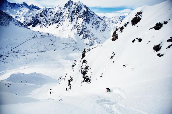 portillo ski paradise